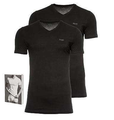 new product eeaad c542b Joop! Herren 2er-Pack Fine Cotton Stretch V-Neck T-Shirt ...