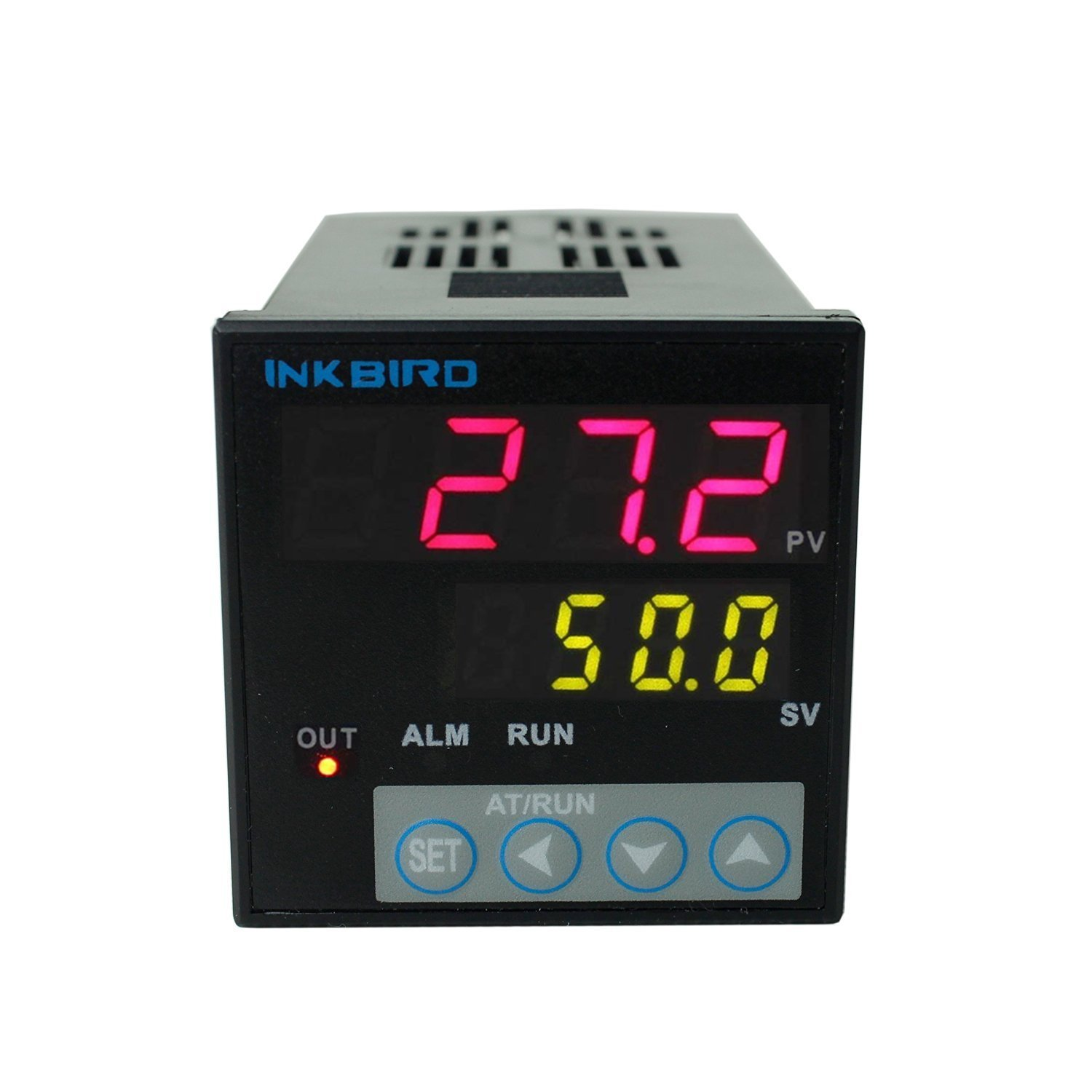 Inkbird °F and °C Display PID Stable Temperature Controller ITC-106RL Relay Output AC/DC 12-24V (ITC-106RL)