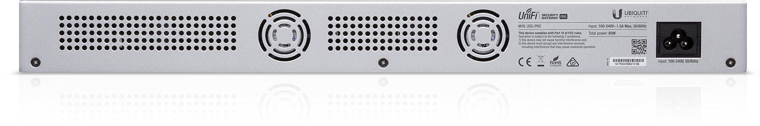 Unifi Security Gateway Pro 4-Port 3 Rack mount design Convenient VLAN support Form Factor: Rack-mountable
