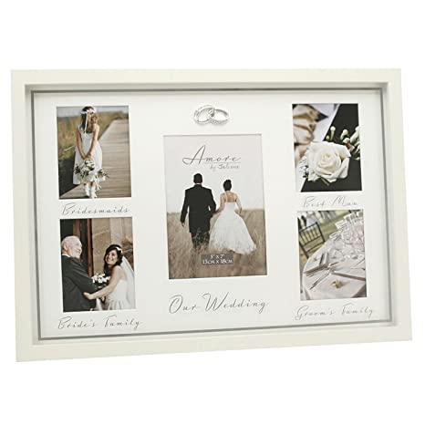 Amore Wedding Day Multi Aperture Photo Picture Frame