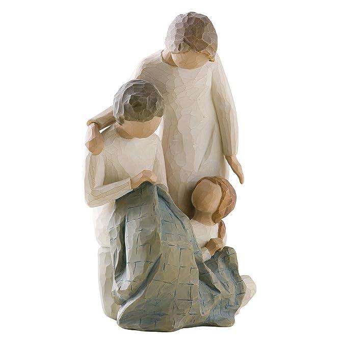 Willow Tree 27268 Figurine Nous Sommes Trois R/ésine 22 cm