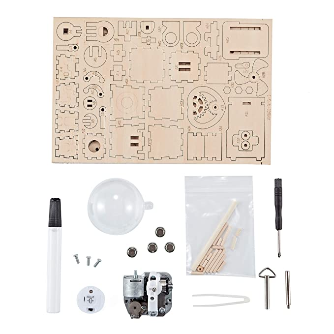 Amazon.com: Think Gizmos Musical Robot Kit TG714 - Build Your Own Robot Kit with Musical Effects for Adults & Kids Aged 12+: Toys & Games