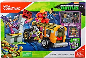 Mega Construx Teenage Mutant Ninja Turtles Shellraiser Showdown Building Set
