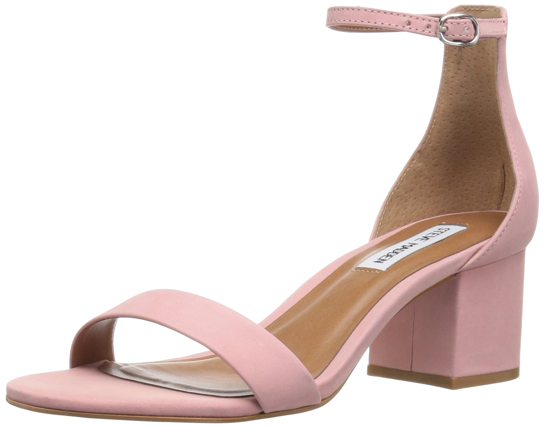 Steve Madden Women's Irenee Dress Sandal, Light Pink, 8 M US
