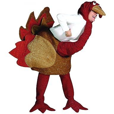 Rasta Imposta - Adult Turkey Costume - One Size  sc 1 st  Amazon.com & Amazon.com: Rasta Imposta - Adult Turkey Costume - One Size: Clothing