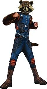 Rubie's Marvel Avengers: Endgame Child's Deluxe Rocket Raccoon Costume & Mask, Medium