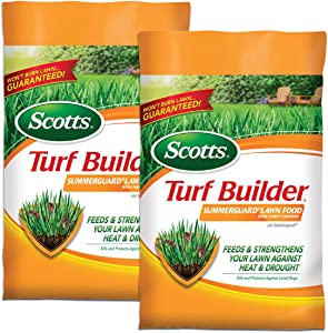 Scotts Turf Builder SummerGuard Lawn Food with Insect Control - 5,000 sq. ft., 2-Pack