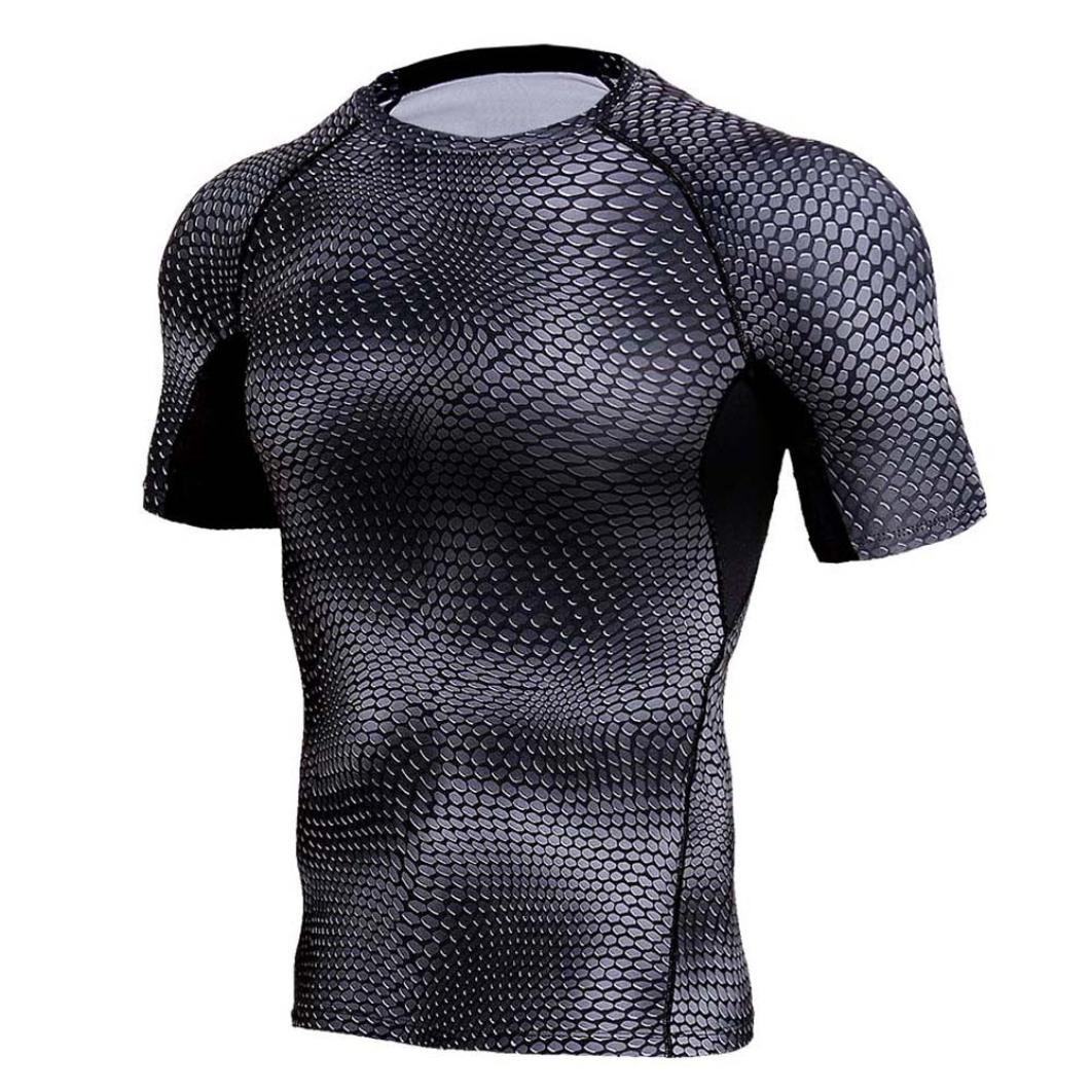 Amazon.com: Hot Sale! Mens T-Shirt,Dainzuy Man Casual Snakes Printed Workout Leggings Fitness Sports Gym Running Yoga Athletic Short Sleeve Speed Dry Shirt ...