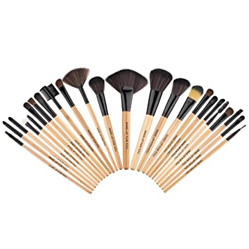 Premium Synthetic Kabuki Makeup Brush Set Cosmetics Foundation Blending Blush Eyeliner Face...