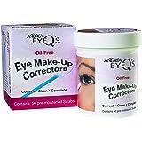 Andrea Eyeq's Oil-free Eye Make-up Correctors Pre-moistened Swabs, 50 Count