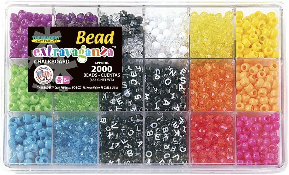 The Beadery Chalkboard TRIBEAD Box