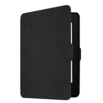 buy online 490b6 77c88 Fintie Slimshell Case for Kindle Paperwhite - Fits All Paperwhite  Generations Prior to 2018 (Not Fit All-new Paperwhite 10th Gen), Black