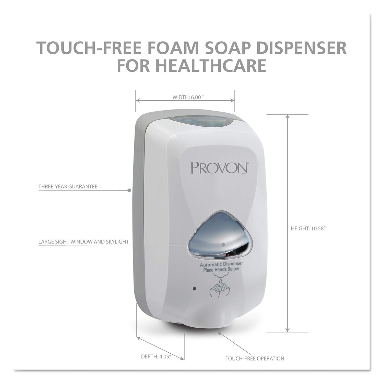 provon 2745 Dove Gray TFX Touch Dispensador (Pack de 1): Amazon.es: Amazon.es
