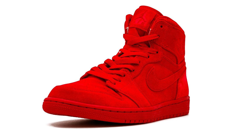 Nike Jordan Hombres de Air Jordan 1 Retro High OG Zapatillas de Baloncesto 11.5 D(M) US Rojo (Gym Red/Gym Red)