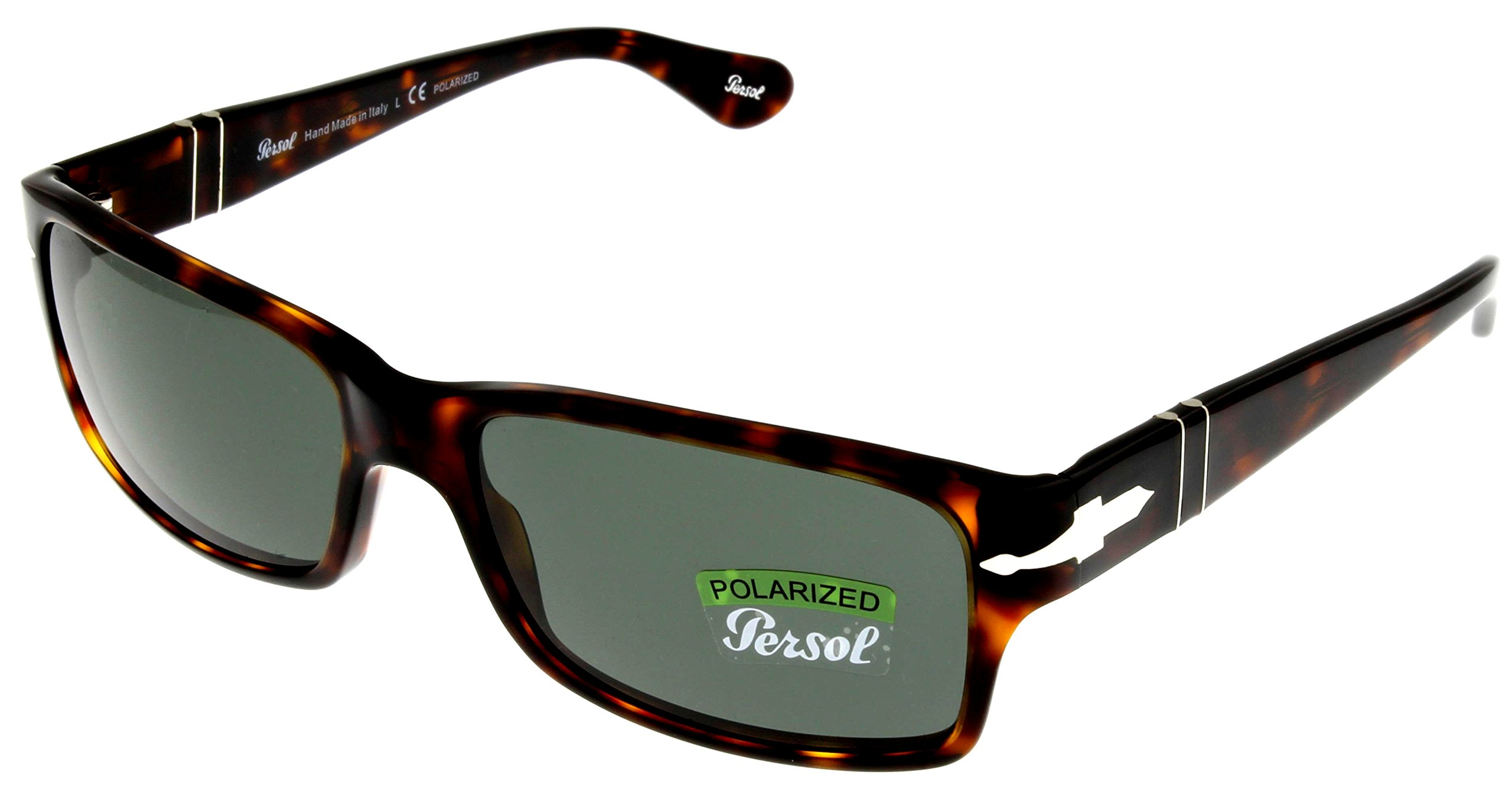 Persol Sunglasses Men Havana Retangular Polarized PO2803S 24/58