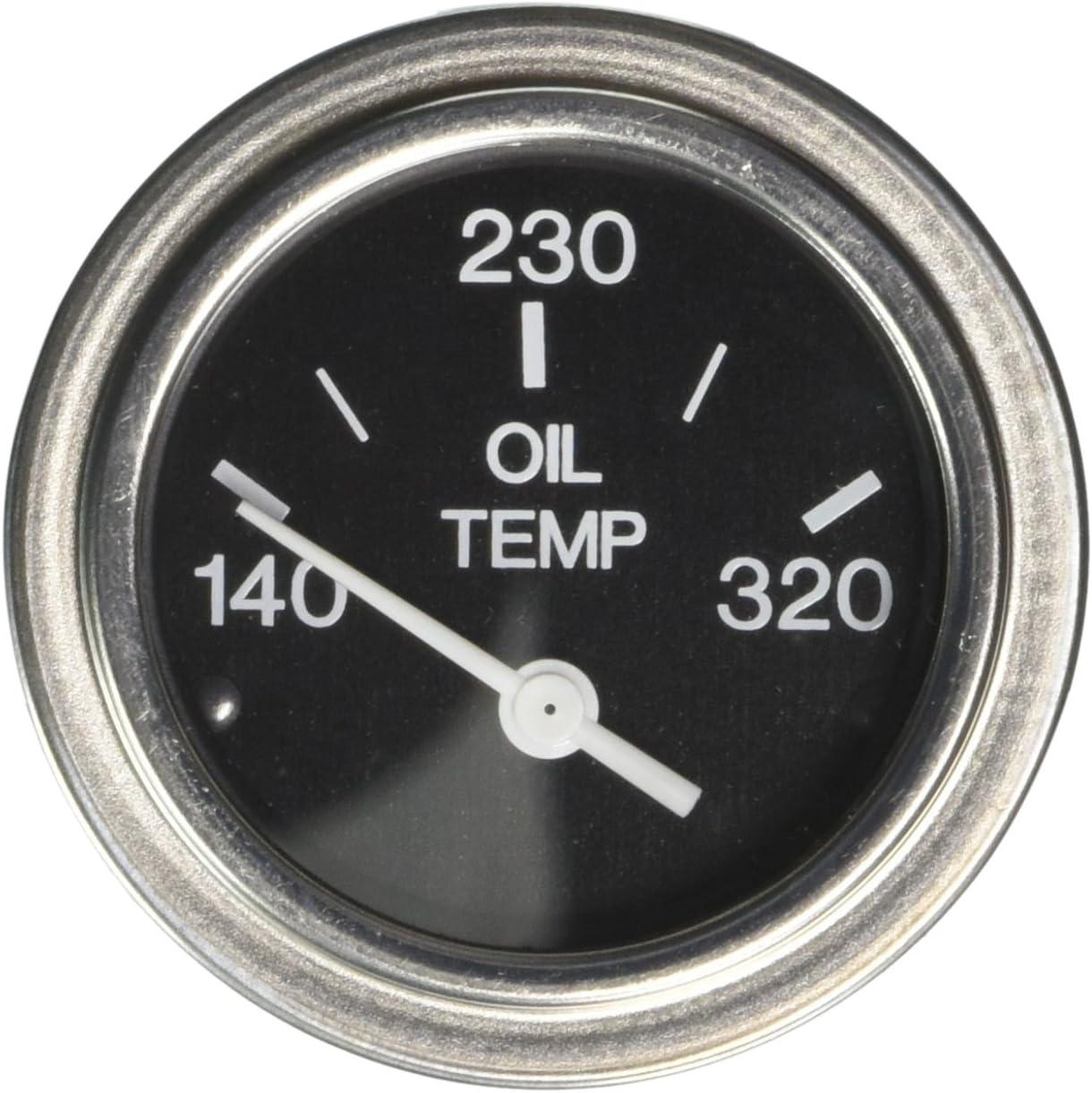 Sierra International 80596P Heavy Duty Electric 320 Degree F Oil Temp Gauge for Inboard /& Diesel Engines 2