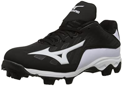 6d50c9f2551 Mizuno 9 Spike ADV YTH FRHSE 8 BK-WH Youth Molded Cleat (Little Kid