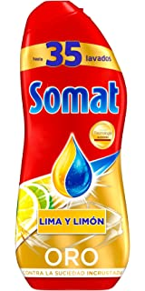 Somat Oro Gel Lavavajillas Limón - 35 Lavados - 630 ml