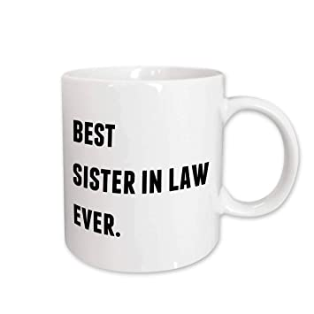 Amazoncom 3drose Xander Inspirational Quotes Best Sister In Law