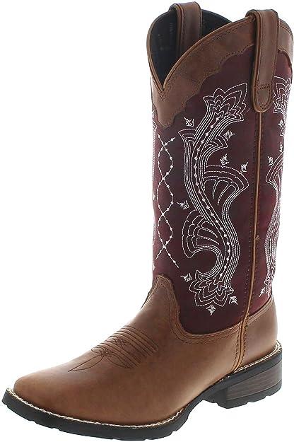 1426216839 FB Fashion Boots - Botas de Vaquero de Cuero Mujer