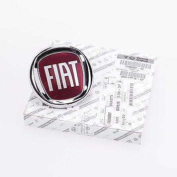 Fiat 500 735521414 - Logotipo posterior original (para maletero): Amazon.es: Coche y moto