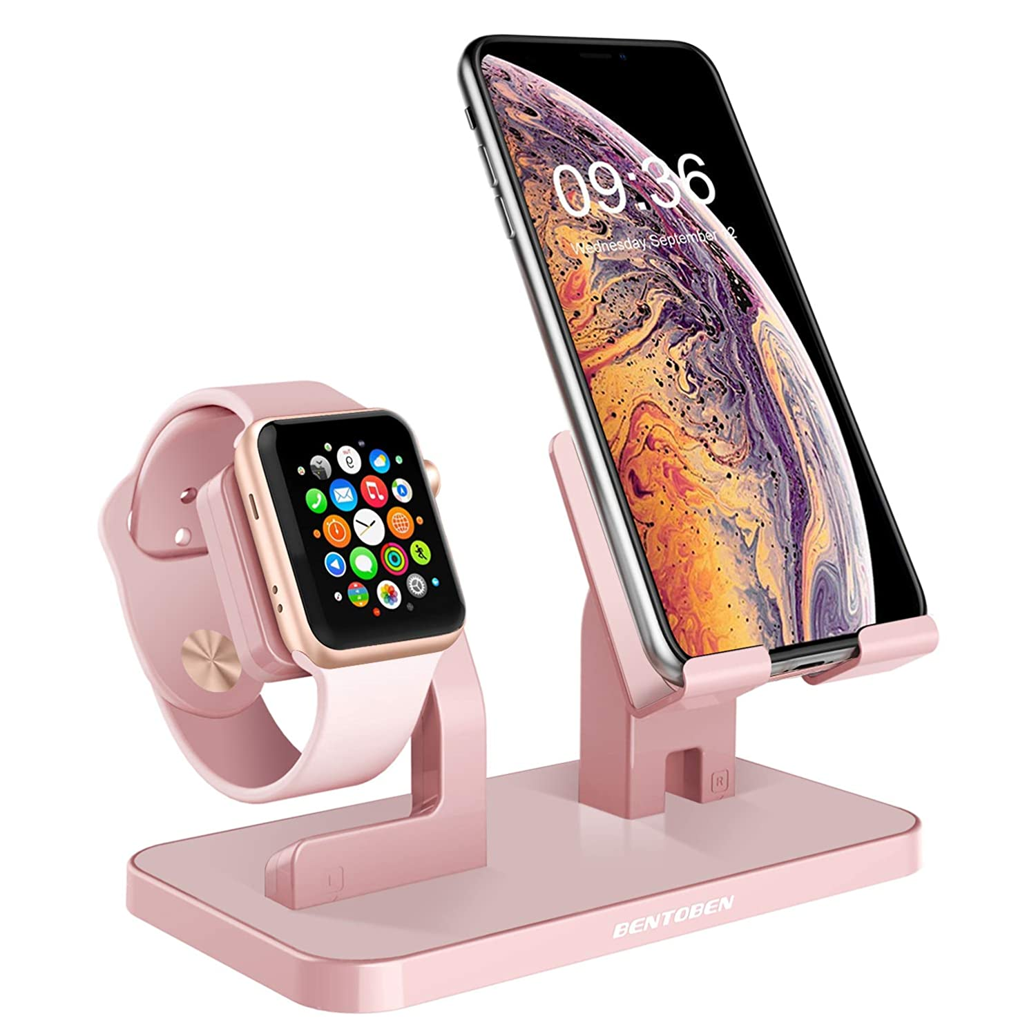 Amazon.com: Apple Watch Stand, Cell Phone Stand, iPhone XS ...