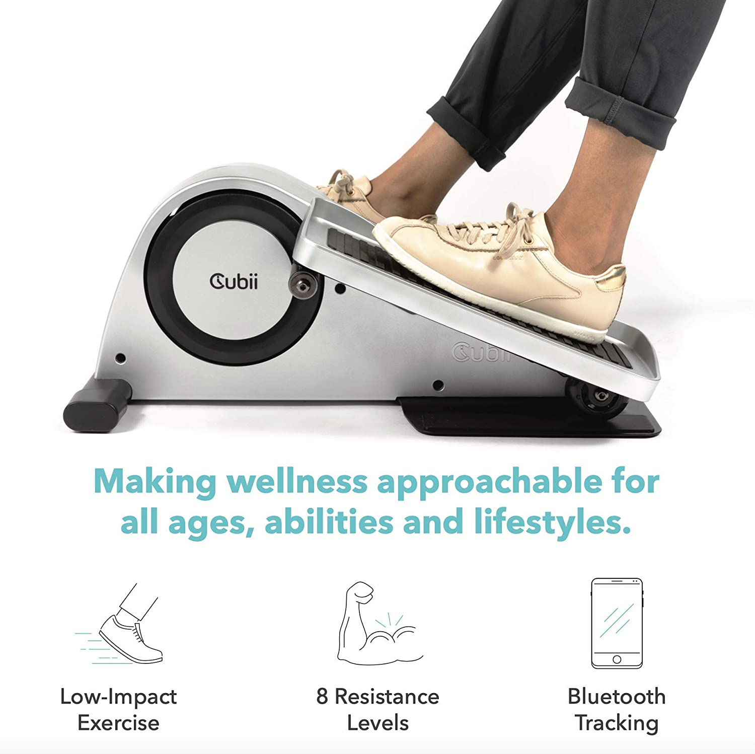 Cubii Pro Under Desk Elliptical Machine for Home Workout