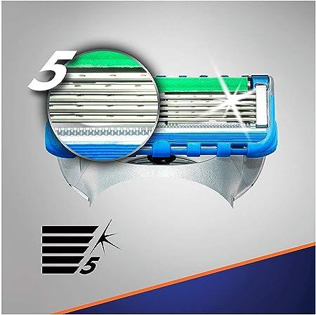 Gillette Fusion5 ProGlide Power - Recambio de Maquinilla de afeitar, apto para El Buzón de Correos, paquete de 8