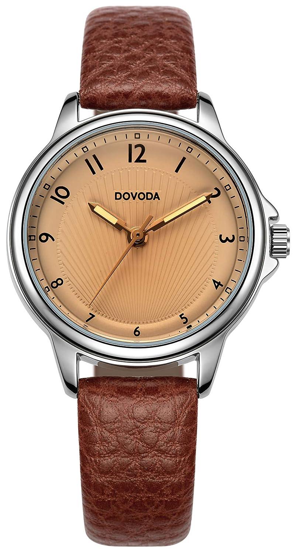 Amazon.com: DOVODA - Reloj de cuarzo para mujer con correa ...