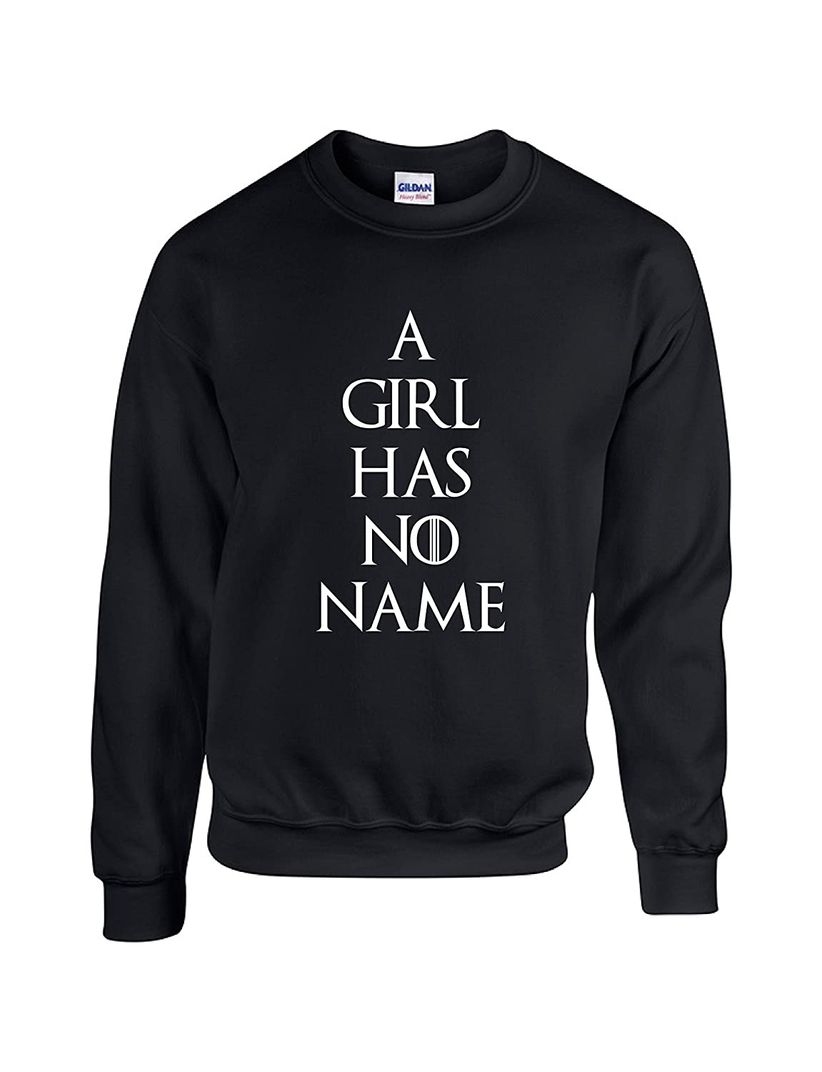A Girl Has No Name Crewneck Sweater by Outlook Designs