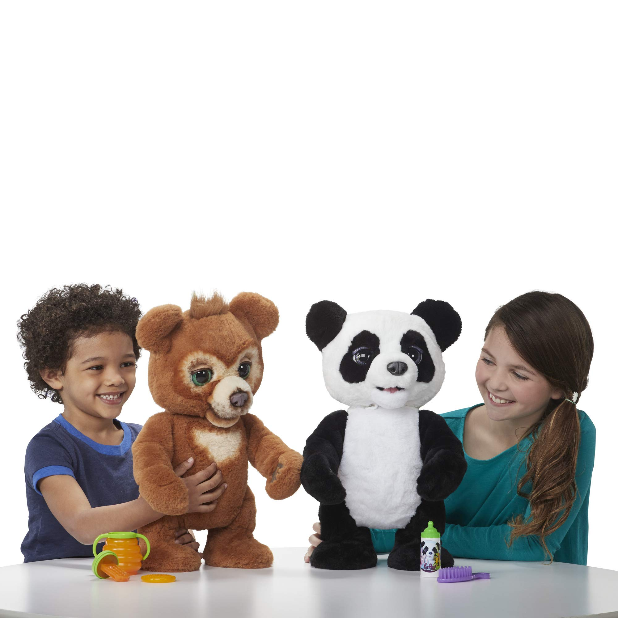 FurReal Cubby, The Curious Bear Interactive Plush Toy, Ages 4 and Up by FurReal (Image #1)