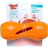 "West Paw Design Zg090tng Zogoflex Qwizl Tough Puzzle Treat Toy For Dogs, Small, Orange, 5.5"""