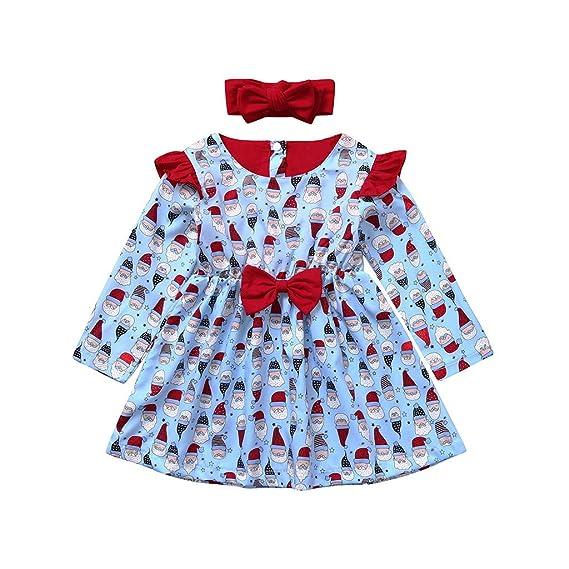 Beikoard Vestido de Niña,Niño Niños Bebé Niña Navidad ...