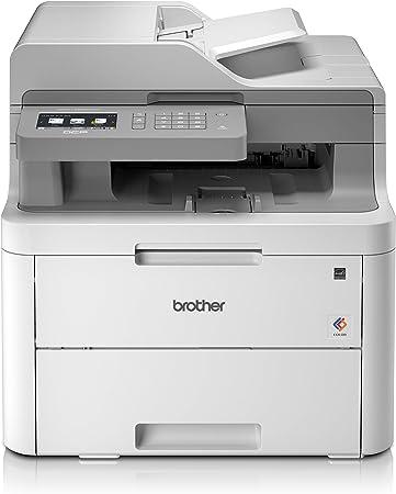 Brother Dcpl3550cdw Farblaser Multifunktionsgerät Weiß Computer Zubehör