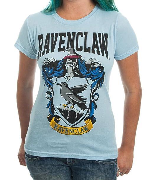 2cc2ff01 Amazon.com: HARRY POTTER House Crest Ravenclaw Juniors T-Shirt: Clothing