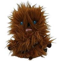 Star Wars Plush Chewbacca Flattie Dog Toy | Soft Star Wars Squeaky Dog Toy