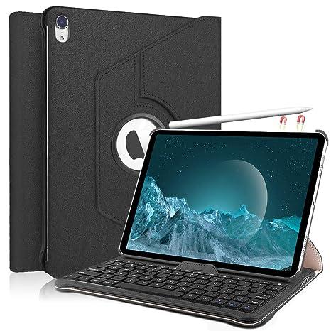 KVAGO Funda con Teclado para iPad Pro 11.1, 360 Giratorio: Amazon.es: Electrónica