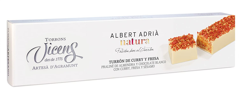 Vicens Turrón de Arroz con Leche Adrià Natura - 300 gr: Amazon.es: Alimentación y bebidas