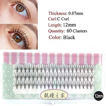1box Big Capacity 60 Bundles 11 20d Eyelash Extensions 0 07mm Thickness Mink Strip Eyelashes