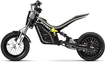 Bicicleta eléctrica infantil de Kuberg, color negro, talla S: Amazon.es ...