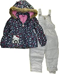Hello Kitty Girls Snowsuits