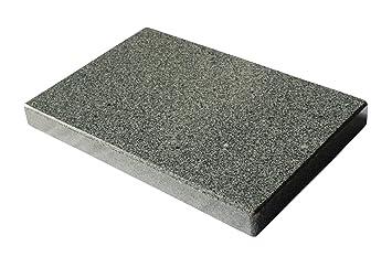 MW Naturstein Piedra de Granito Barbacoa Rectangular para el Cuadrada Barbacoa – 30 x 20 x