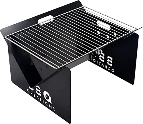 BBQ Creations Portable Fire Pit and Charcoal Grill