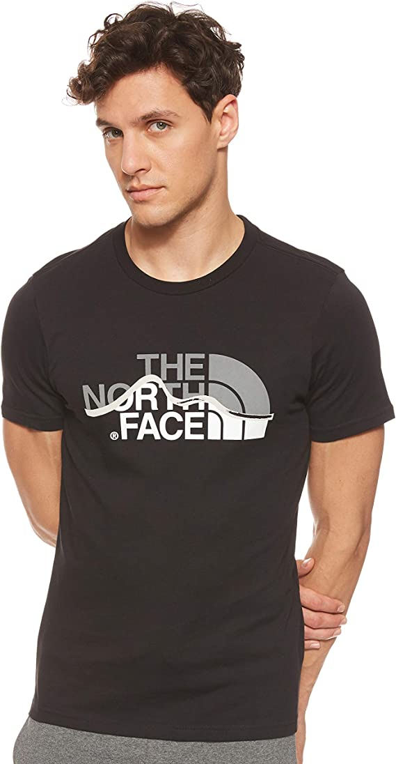 The North Face S/S Mount Line tee - Camiseta Hombre: Amazon.es: Ropa y accesorios