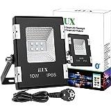 LE Smart RGB Fluter 10W IP65 wasserdicht Flutlicht steuerbar via App Smartphone Fernbedienung Bluetooth Smart Deko Lampe Strahler