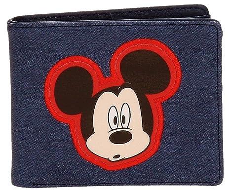 Disney Mickey Parches Monedero, 10 cm, 0.19 litros, Azul ...