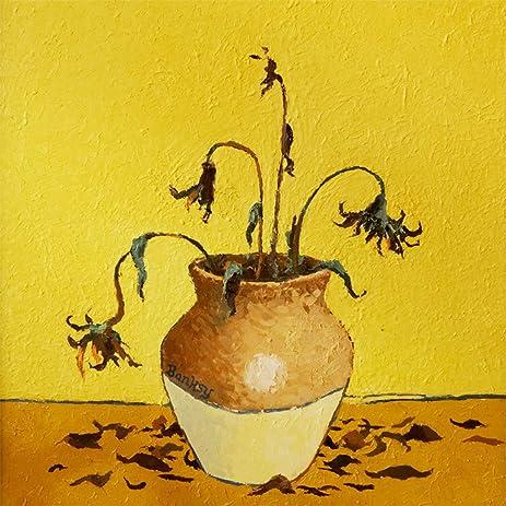 Amazon.com: Banksy Sunflowers From Petrol Station - Large size ...