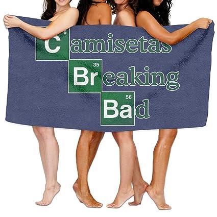 Qyahooshy Bath Towel Camisetas-br-bad Custom Soft Large Swim Beach Towels