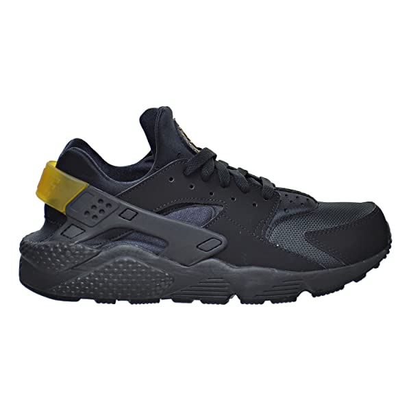 Amazon: Nike Mens Air Huarache Black/Metallic Gold Synthetic Size 11 5:  Shoes