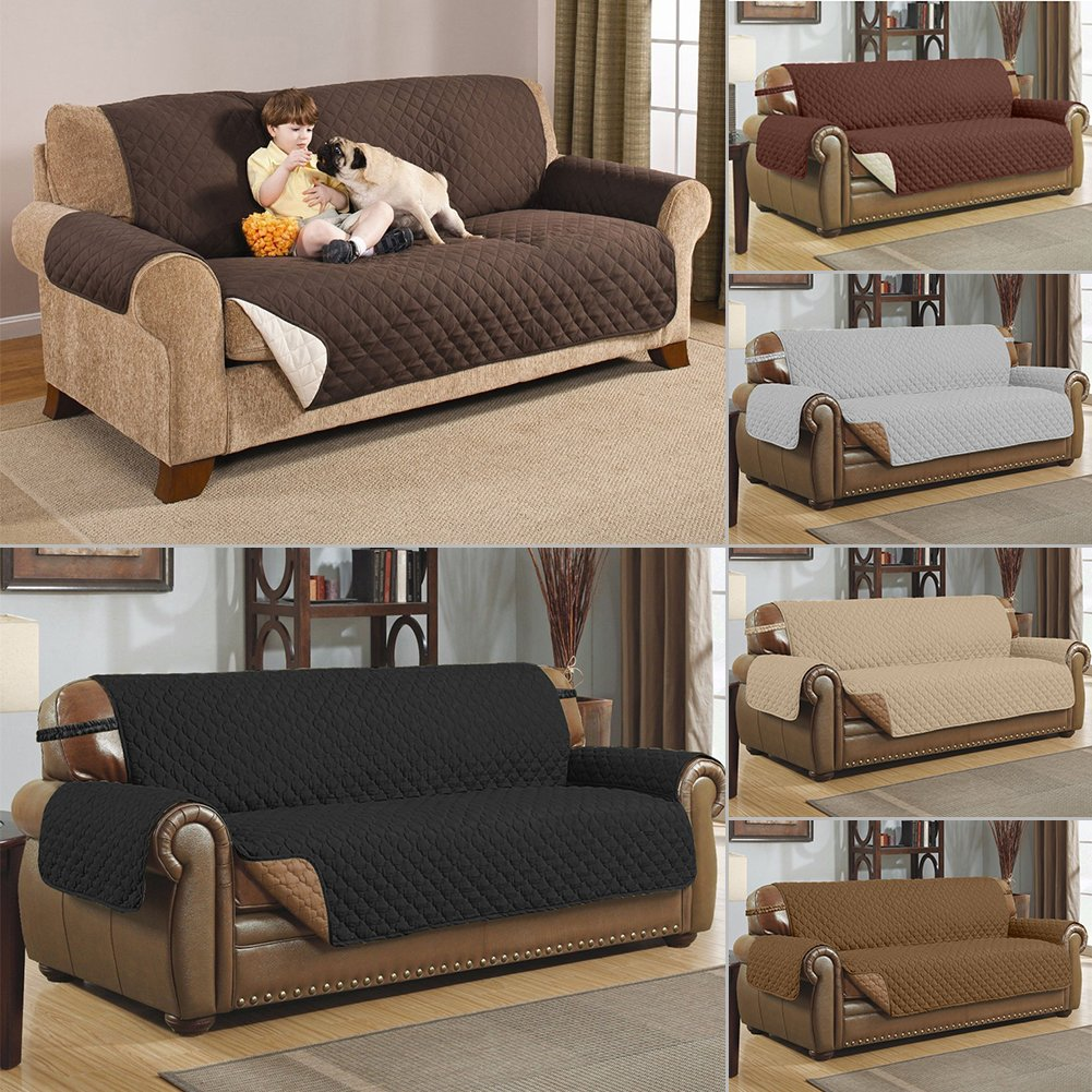 Amazon: Gohunter Premium Quality Sofa Couch Cover Protector Waterproof  For Pets Cat Dog Kids Slipcover Set Non-Slip Furniture Protector  (Sofa/Couch:66